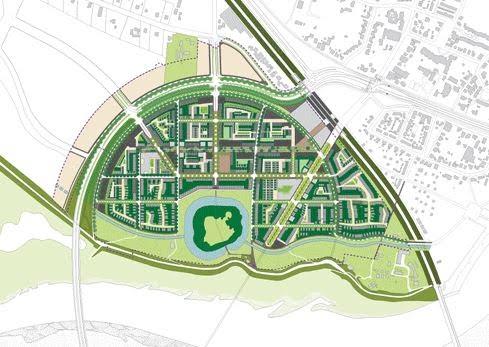 Plankaart Citadel Nijmegen